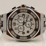 Aqua Master Royal Oak Mens Diamond Watch 1.50ctw W3256 1