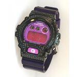Casio G-Shock 5.00 ct Swarovski Iced Out Mens Watch G-105 1