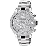Mens Real Diamond Watch by Luxurman Libe 90906 1