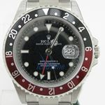 """Rolex GMT Master II Black Dial """"""""Coca Cola"""""""" Bezel Automatic Mens Watch 1"""