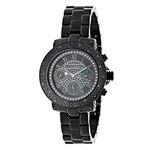 Mens Ladies Diamond Watches: Luxurman Bl 90936 1