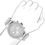 LUXURMAN MENS REAL DIAMOND WATCH 0.25CT 51 3