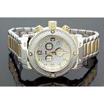Aqua Master Mens Diamond Two Tone Watch 0.20ct w-146b 1