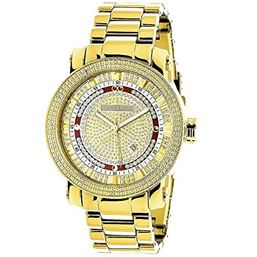 men mens luxurman watches watch s escalade diamond