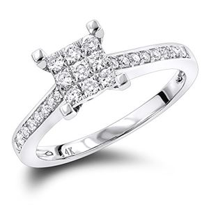 f85fe4f50cf73 IcedTime Ladies Diamond Rings in Gold and Platinum Products