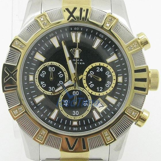 Mens Aqua Master Iced Out Diamond Watch W333AQ6 1