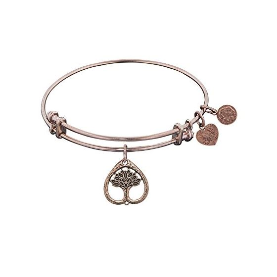 Angelica Ladies Mom and Family Collection Bangle Charm 7.25 Inches (Adjustable) PGEL1139