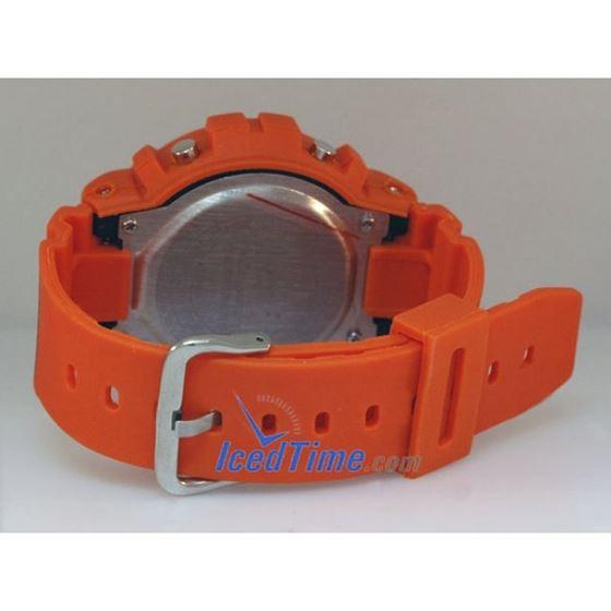 Aqua Master Shock Digital Watch Orange 3