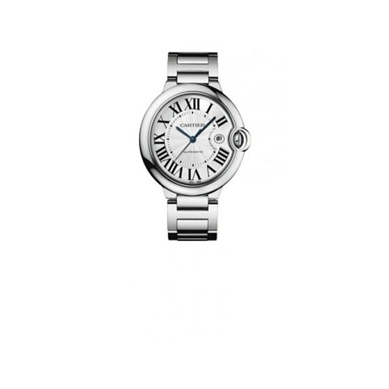 Cartier Ballon Bleu Large Mens Wristwatch W69013Z2