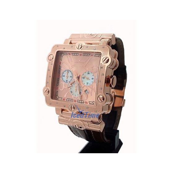Aqua Master Unisex Diamond Watch 0.20ct W155