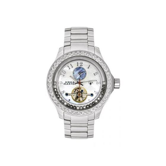 Aqua Master Diamond Watch The AquaMaster Tour Billion Watches Stainless Steels with Diamonds 3-1W
