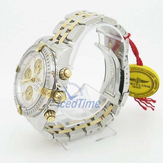 Breitling Chronomat Evolution Silver Dia 55349 3