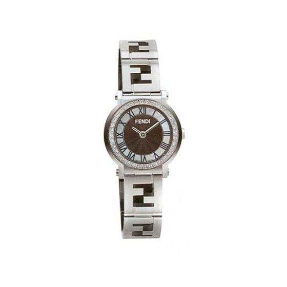 FENDI ROUND QUADRO Ladies Watch F615210DC