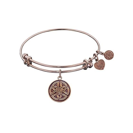 Angelica Ladies Inspirational Collection Bangle Charm 7.25 Inches (Adjustable) PGEL1181