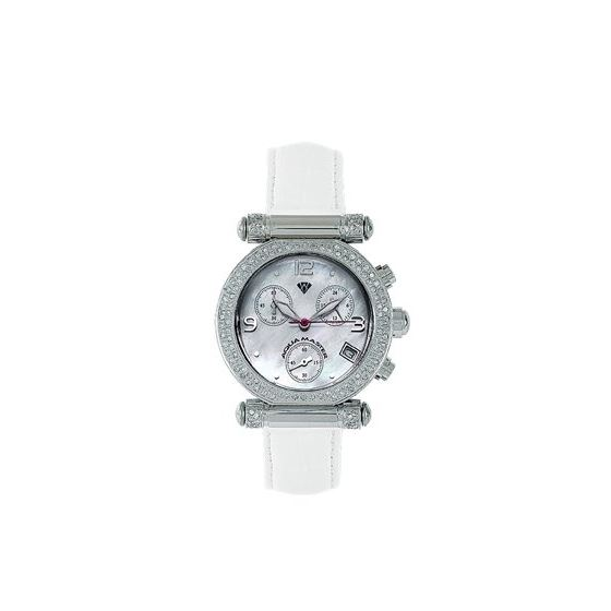 Ladies' Round Diamond Watch, 0.85 Ctw-