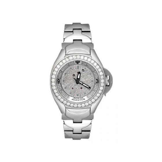Aqua Master Diamond Watch The AquaMaster Skelton Diamond Watches with Diamond Dial 4-1W