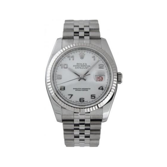 Rolex Oyster Perpetual Datejust Steel Wh 53746 1
