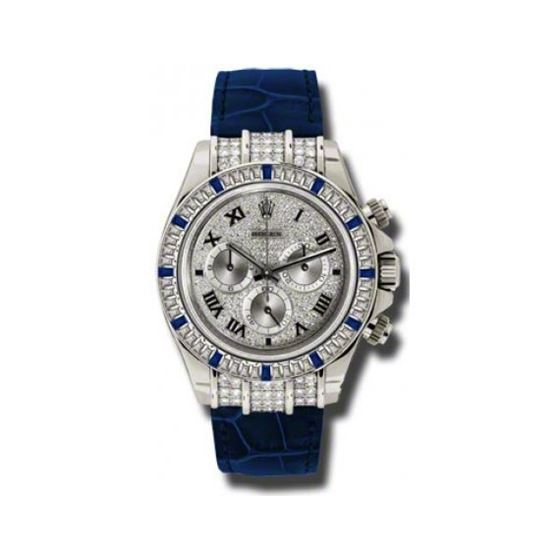 Rolex Watches  Daytona White Gold  Diamond Bezel 11659912 SA