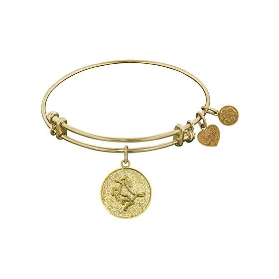 Angelica Ladies Animals Collection Bangle Charm 7.25 Inches (Adjustable) GEL1100
