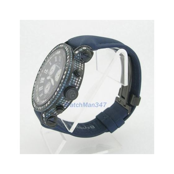 Blue And White Benny Co Diamond Watch BNC4 3