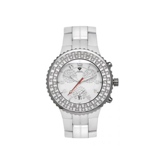 Aqua Master Unisex Ceramic Diamond Watch 12-1W