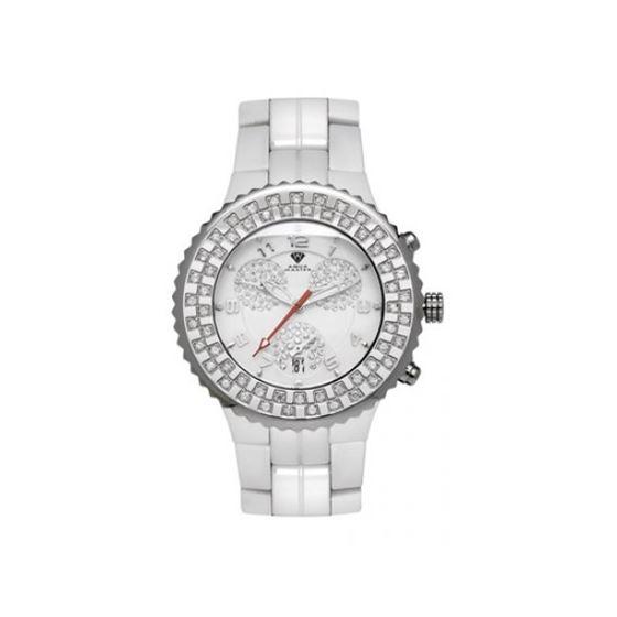 Aqua Master Unisex Ceramic Diamond Watch 53468 1