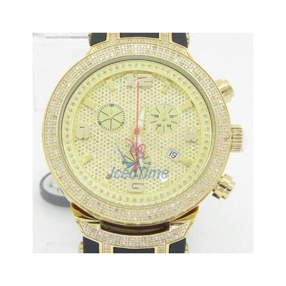Mens Joe Rodeo Master Diamond Watch JoJo Aqua Jojino Techo Canary Ice Bling Iced JJM93 1