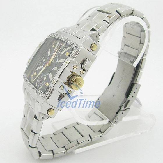 Mens Aqua Master Iced Out Diamond Watch W329AQ1 3