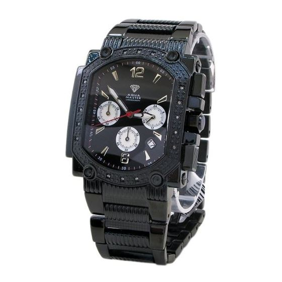 0.16 Ctw Mens Diamond Watch AQMW10
