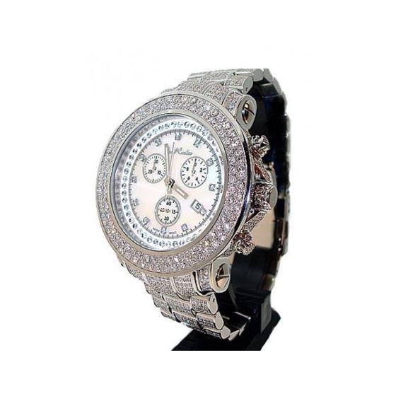 Joe Rodeo Junior Jumbo Face Diamond Watch 16.25ct 1