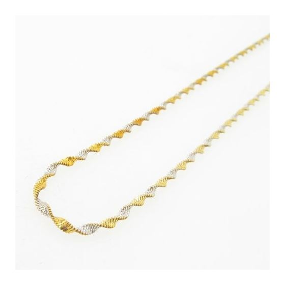 925 Sterling Silver Italian Chain 20 inches long and 2mm wide GSC177 3