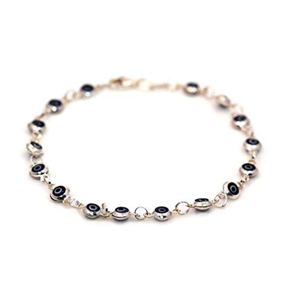 Evil Eye Murano Glass Bead Designer Ster 73105 1