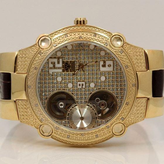 Aqua Master Mens Automatic Diamond Watch 0.20ctw W212 1