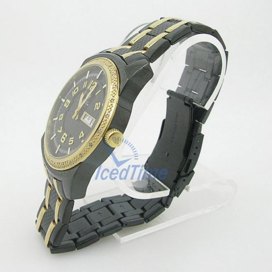 Mens Aqua Master Iced Out Diamond Watch W335AQ1 3