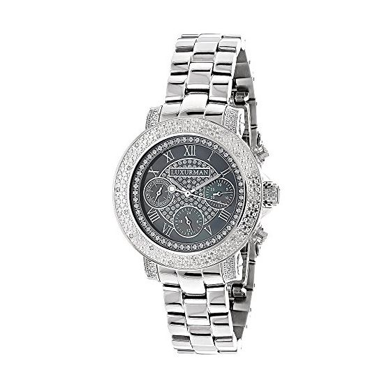 Ladies Montana Real Diamond Watch by Lux 89983 1