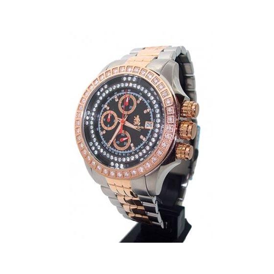 Richard  Company Diamond Watch Two Tone Rose Gold 1.00ct