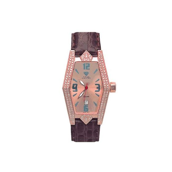 Ladies' Aqua-Diamond Watch, 1.50 Ctw-