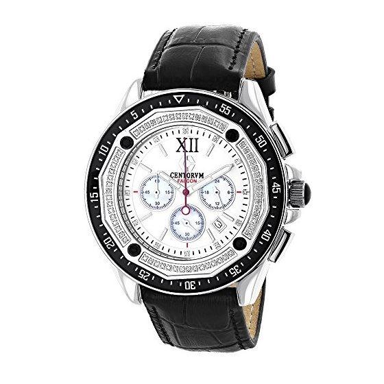 Centorum Flacon Mens Real Diamond Watch  90872 1