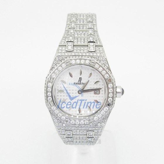 Audemars Piguet Royal Oak Lady Quartz Watch 67601ST.ZZ.1230ST.01 1