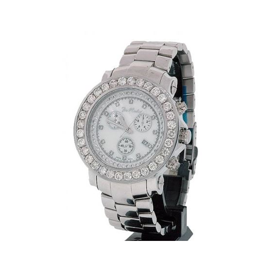 Joe Rodeo 8ct Jumbo Bezel Diamond Watch 1
