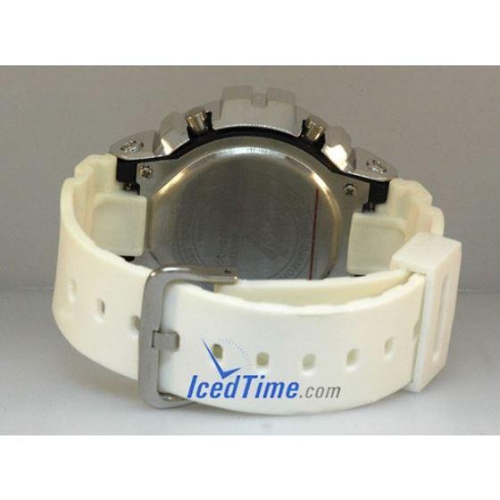 Aqua Master Shock Diamond Mens White Watch gd1 3