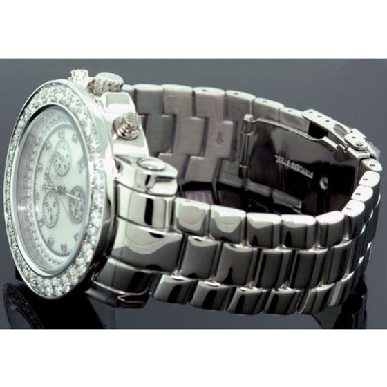 Joe Rodeo 8ct Jumbo Bezel Diamond Watch 3