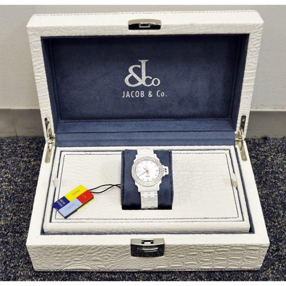 Jacob  Co Ceramic Unisex Diamond Watch JCS14 3