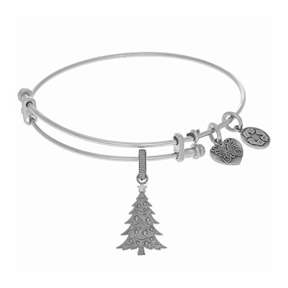 Angelica Ladies Novelty Collection Bangle Charm 7.25 Inches (Adjustable) WGEL1278