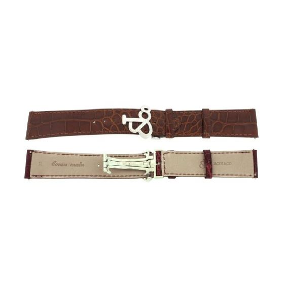 Jacob Co. Genuine Real Alligator Brown Band Strap