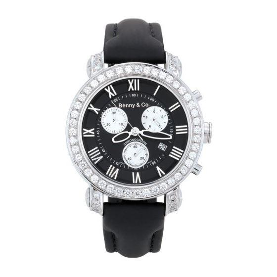 Benny Co. Diamond Watch Ice 3.0 Black
