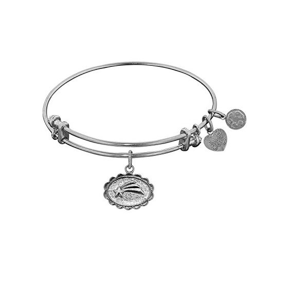 Angelica Ladies Novelty Collection Bangle Charm 7.25 Inches (Adjustable) WGEL1082