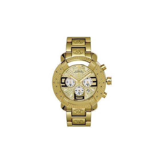 Men's #96 20-Diamond Watch-W#9682-