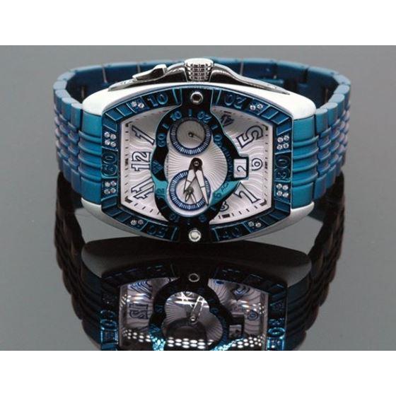 Aqua Master Tonneau 0.50ctw Mens Diamond Watch W315-6