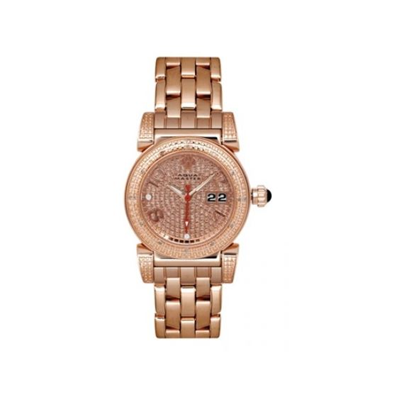 Aqua Master Diamond Watch The New Ladies Round Watches 62-3W